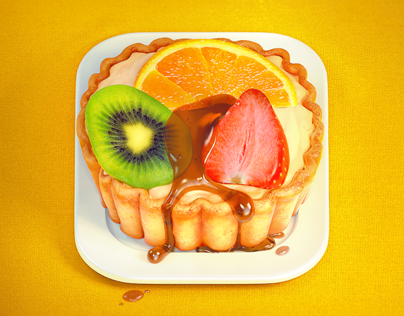 Fruit Tart Icon