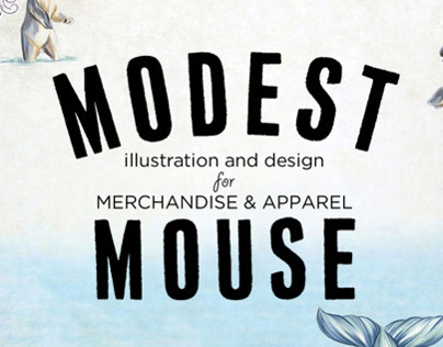 Modest Mouse Merchandise & Apparel