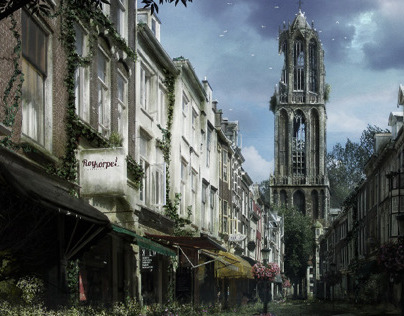 The Netherlands 100y Abandoned fantasy - Photoshop