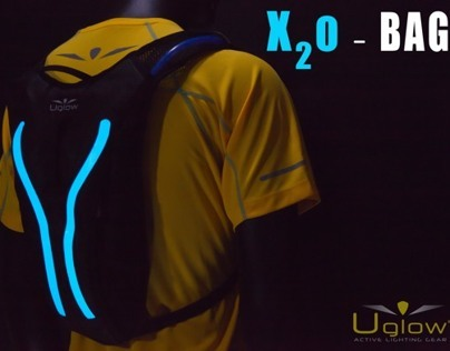 X2O active lighting back pack