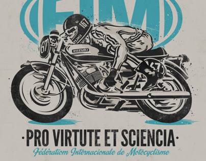 FIM . Fédération International de Motocyclisme