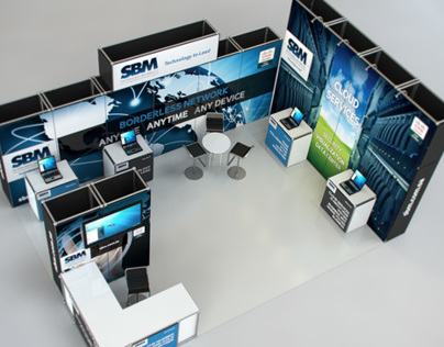 Cisco SBM Booth Branding