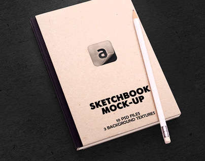 Sketchbook Mock-up