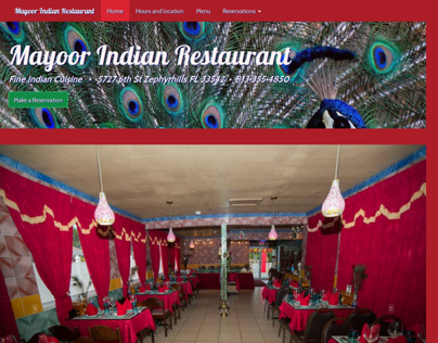 Mayoor Indian Restaurant http://bit.ly/HXwGpB