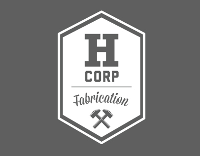 HCORP Fabrication Visual Identity