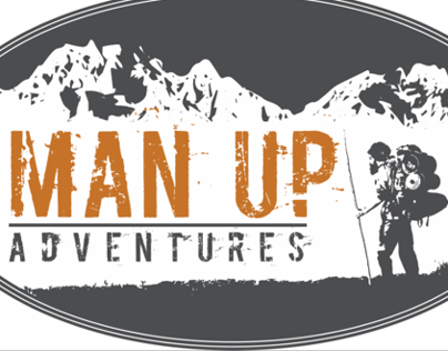 Man Up Adventures - Logo Design