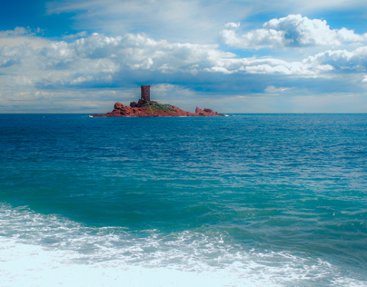 VAR, FRANCE SOUTH. L ESTEREL AND ITS COLORS