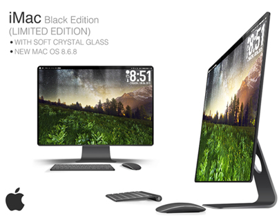 iMac Black Edition (concept work)