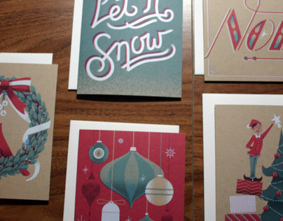 2013 Downtime Collective Holiday Cards