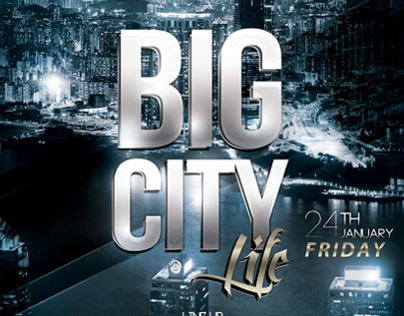 FLYER - Big City Life