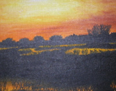 Sundown on the Marsh