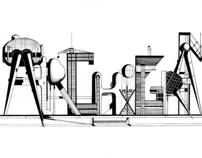 LETTRAGE ARCHIGRAM