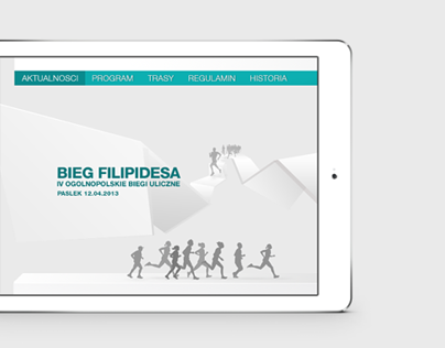 Filepides Running Website
