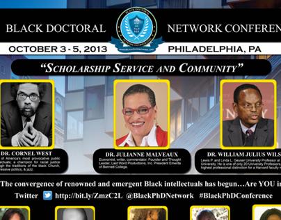 Black Doctoral Network Conference Poster