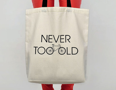 100copies Tote Bag - Never Too Old