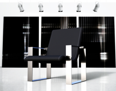 BONNIE armchair black / Edition of 6