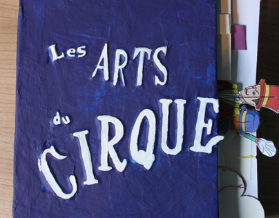 Pop-up Book : Les Arts du Cirque