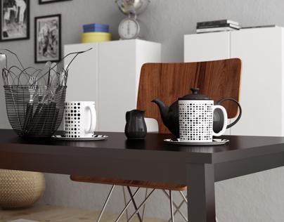 Interior design - Ikea Room