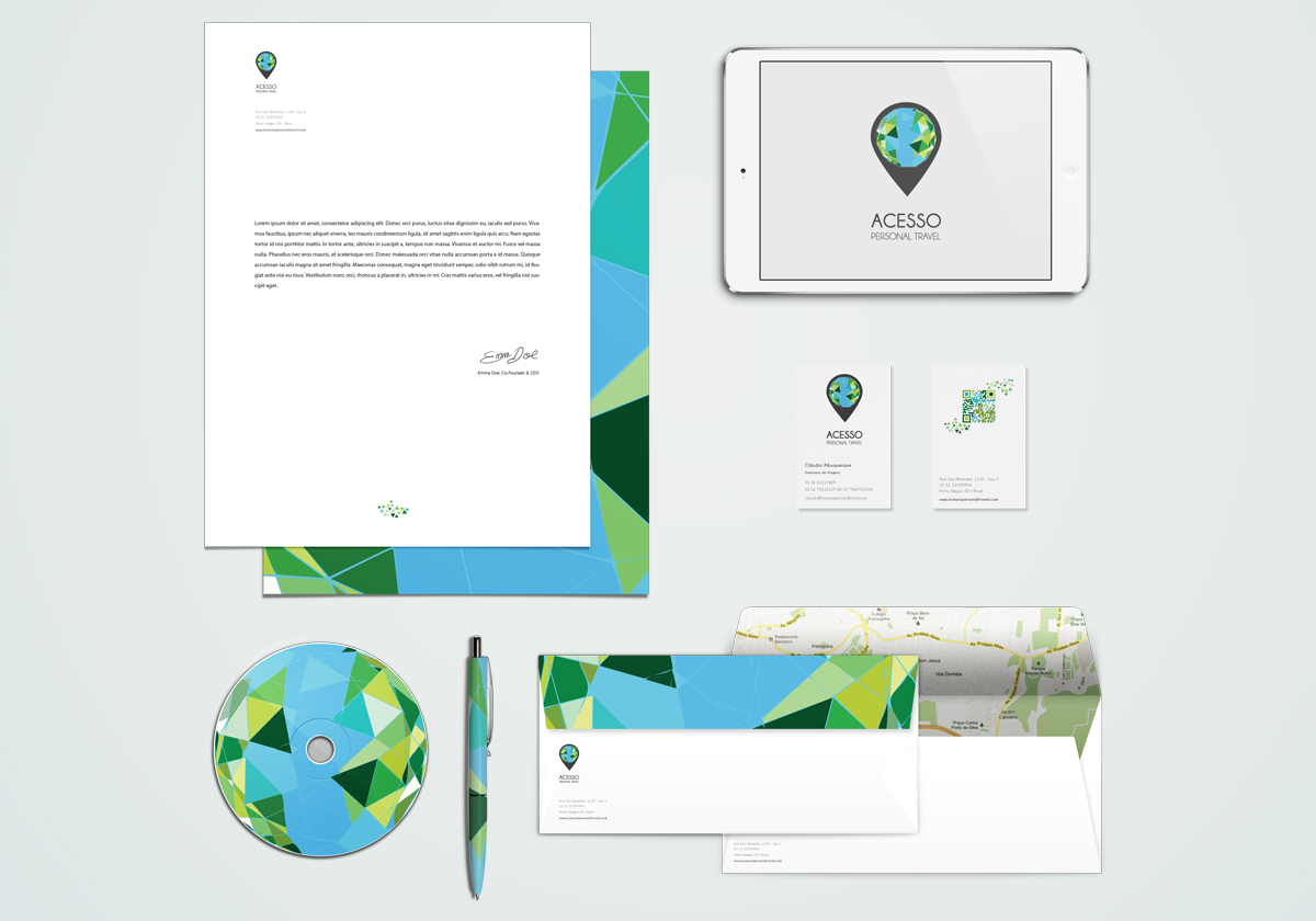 ACESSO Personal Travel Corporate Identity