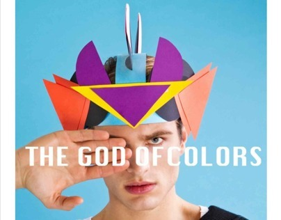 PAUSE MAG UK, THE GOD OF COLORS