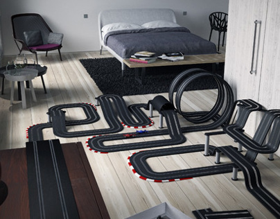 ENJOY - Racing car track
