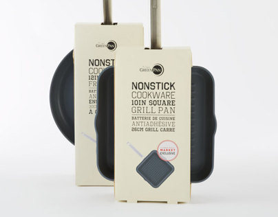 Non-Stick Cookware Packaging