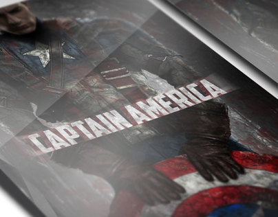 Captain America Poster & Shirt