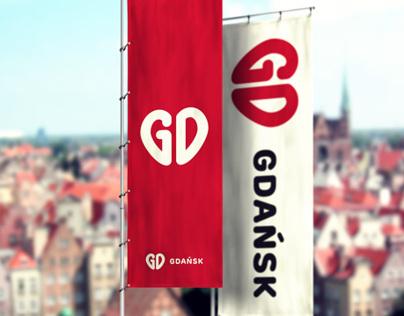 (I love) Gdansk - city rebranding concept