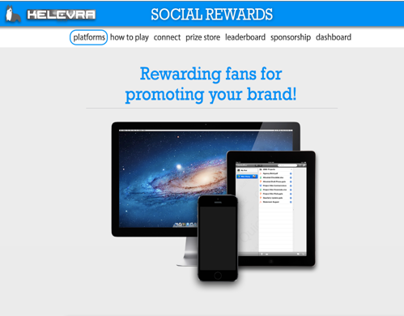 Website Design for Kelevra Social (In Progress)