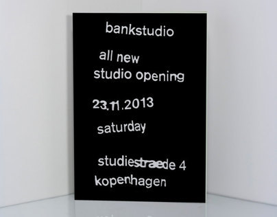bankstudio Invitation