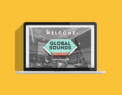 Global Sounds / Music School / WEB