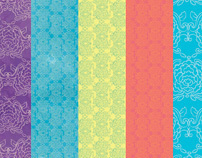 Peranakan Scrapbook Papers