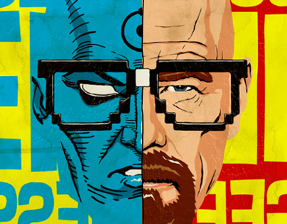 Geeky Antiheroes Unchained Project by Butcher Billy