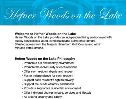 Hefner Woods Flyer