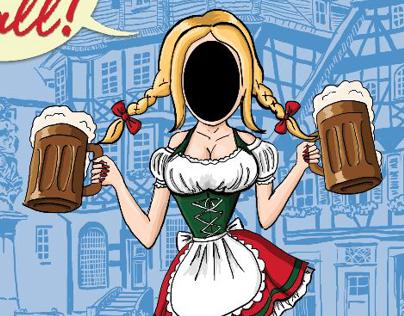 Oktoberfest Face-Cutout Banner