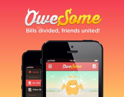 OweSome App - Bill Divider