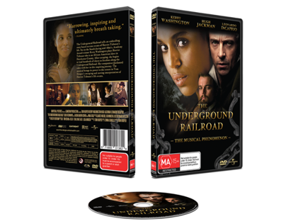 The Underground Railroad DVD Design