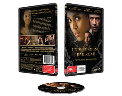 The Underground Railroad DVD Design