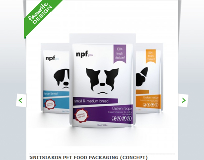 Nitsiakos Pet Food Packaging