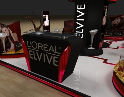Loreal Elvive Activation Booth