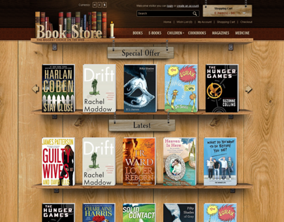 Book Store OpenCart Theme