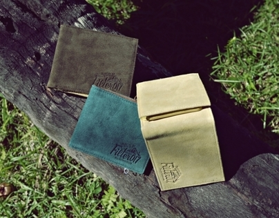 Filter017 Outdoor Logo Suede Wallet