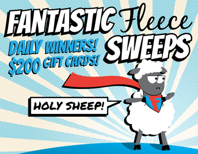 Fantastic Fleece Sweeps Email Campaign