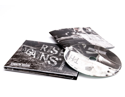 CD-Cover with 3D-Lettering