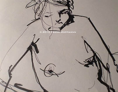 Nude life drawings 2012-2013 – Sketchbook part two