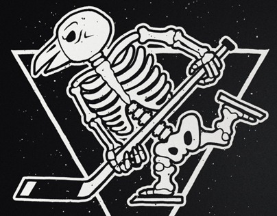 Pittsburgh Penguins: Halloween Tee