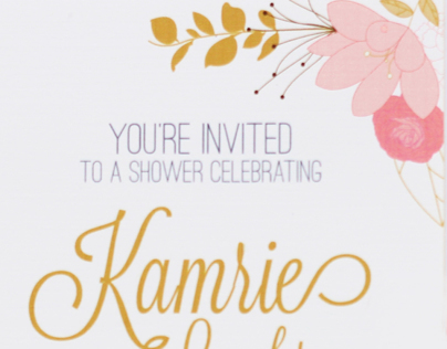 Shower Invitation