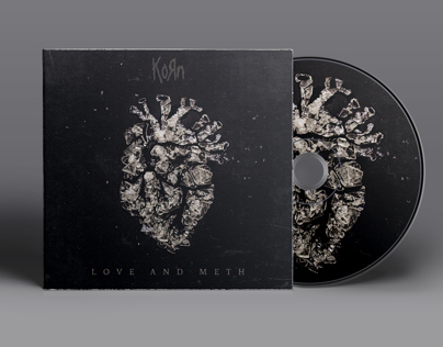 Korn - Love and Meth Single Artwork