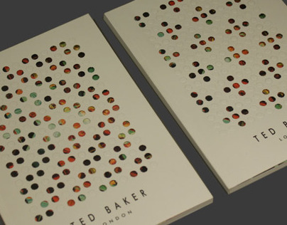 TED BAKER / NOTEBOOK