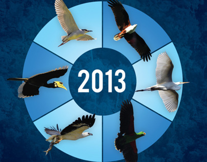Calendar 2013 for Burung Indonesia